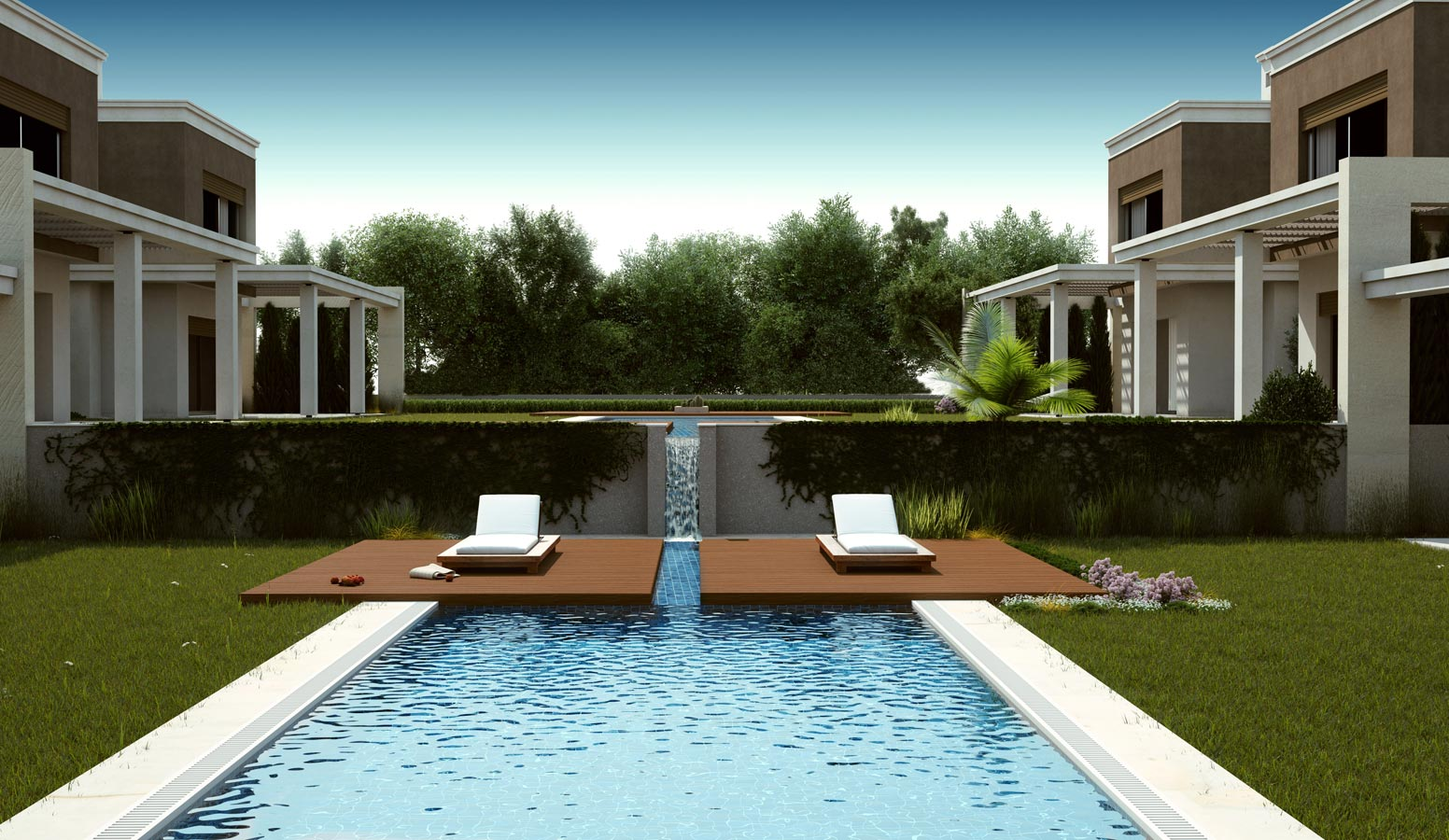 Mi'Marin Alaçatı Villaları havuz