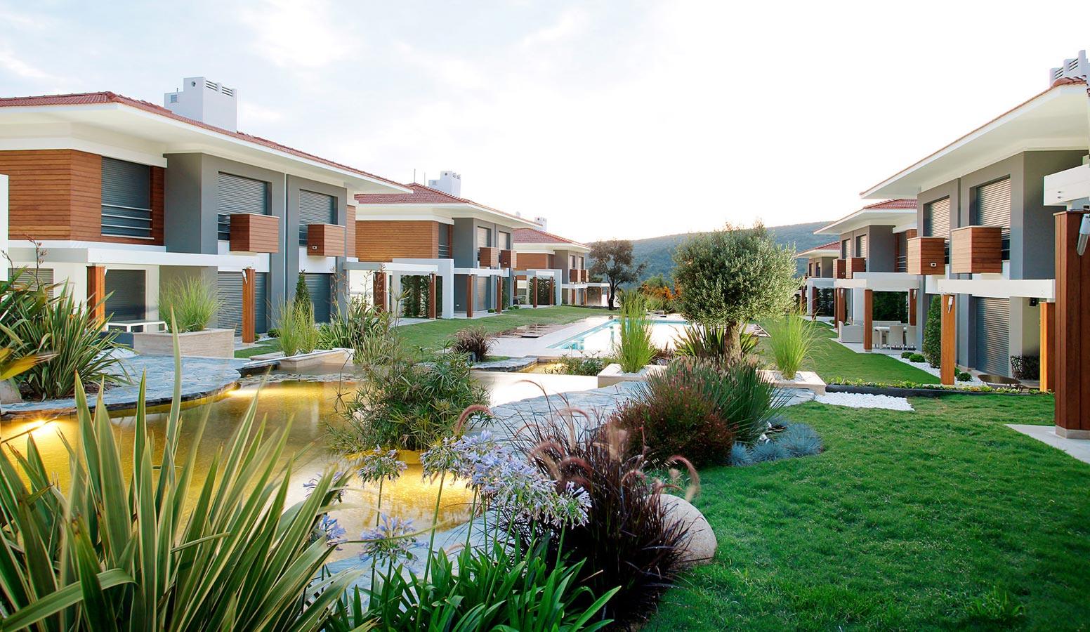 Mi'Marin Paşalimanı Villaları Bahçe