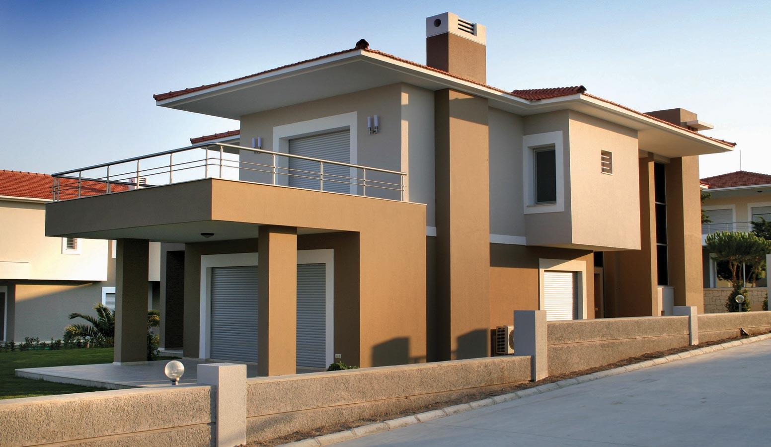 On İki Evler dış görünüm